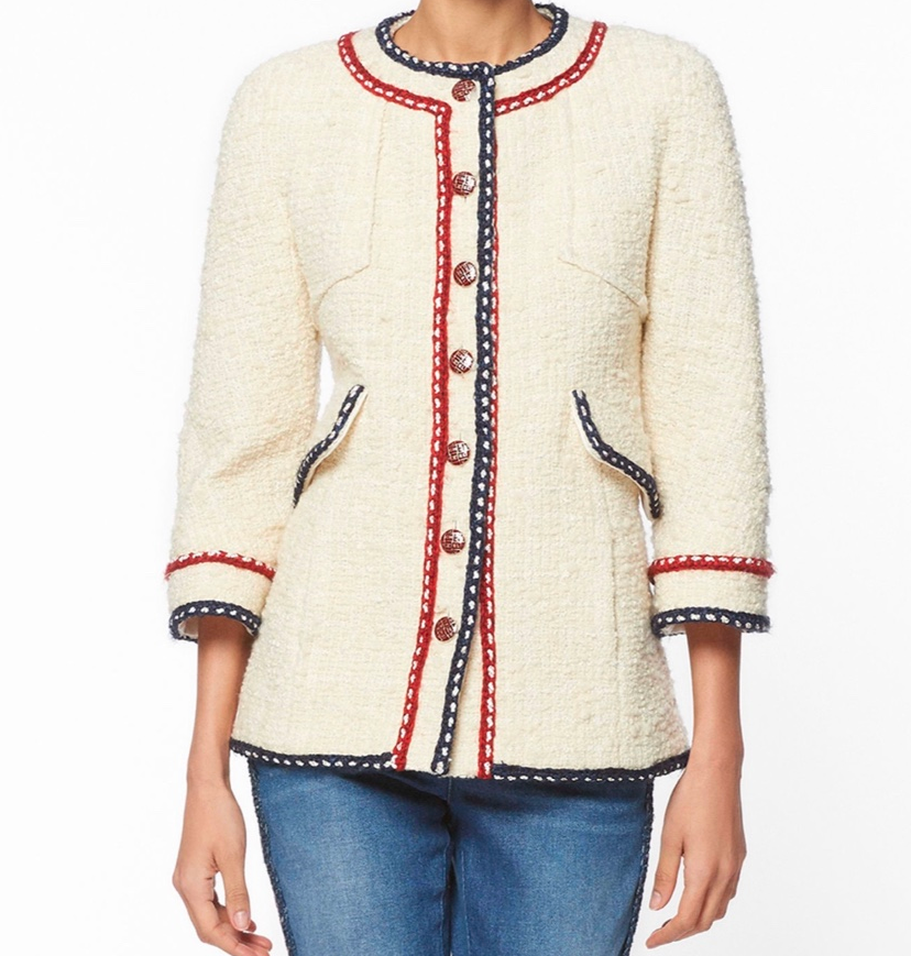 Chanel Evie tweed jacket 2019 collection
