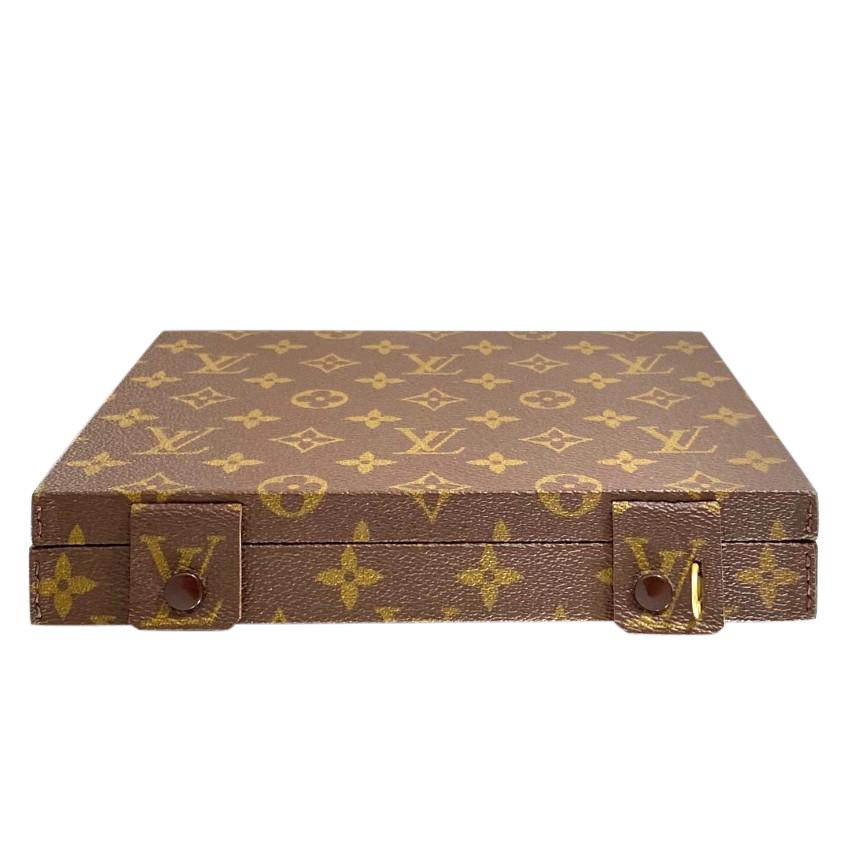 Louis Vuitton vintage trunk style jewellery case