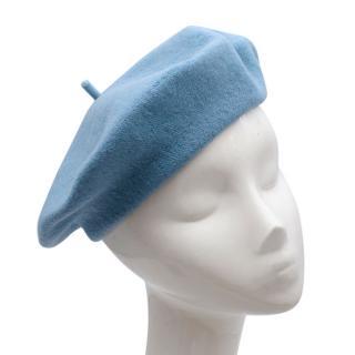 Lola Cashmere Blue Beret