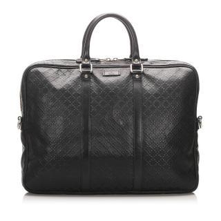 Gucci Bright Black Diamante Briefcase