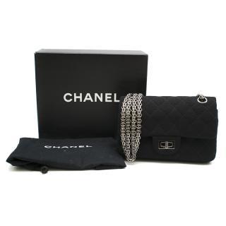 Chanel Reissue 224 Flap Bag in Black Jersey