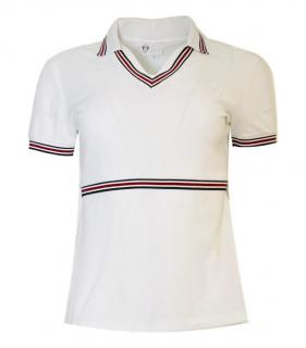 Gucci Equestrian Cotton Polo Top