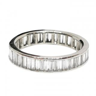 Bespoke 18ct White Gold Diamond Eternity Band