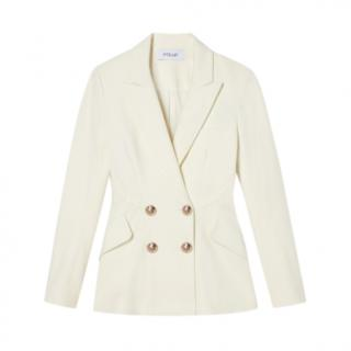 Derek Lam Rodeo Double-Breasted Blazer with Sailor Buttons