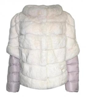 Diego M Rabbit Fur & Goose Down Jacket.