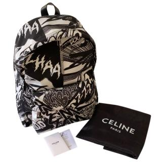 Celine by Hedi Slimane Zzhaa Zow Medium Backpack