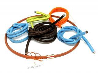 De Grisogono 3 changeable cord and 18ct gold bracelets