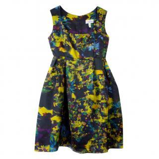 Erdem floral silk puffball dress