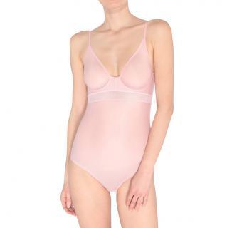 Stella McCartney Grace pink glowing bodysuit