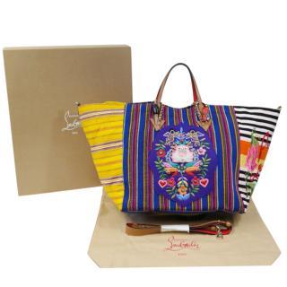 Christian Louboutin Mexicaba multicoloured tote bag