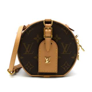 Louis Vuitton mini boite a chapeau in monogram canvas