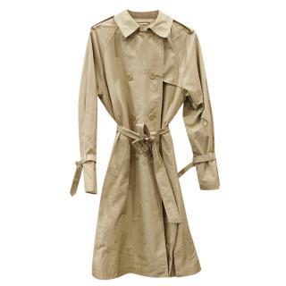 Max Mara Camel Trench Coat