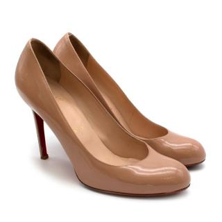 Christian Louboutin Nude Simple Pump 100