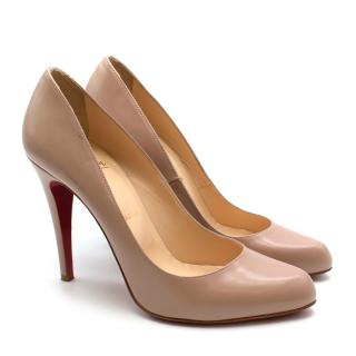 Christian Louboutin Nude Simple Pumps
