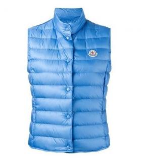 Moncler Liane blue puffy gilet