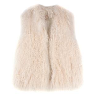Michael Michael Kors Mongolian Lamb Fur Gilet