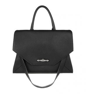 Givenchy Obsedia bag in black textured-leather