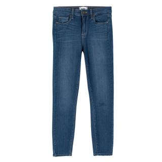 Paige High Waist Hoxton Cropped Skinny Jeans