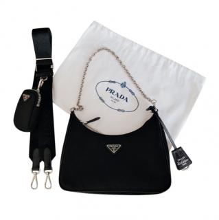 Prada Re-Edition Nylon Crossbody Bag  & Pouch