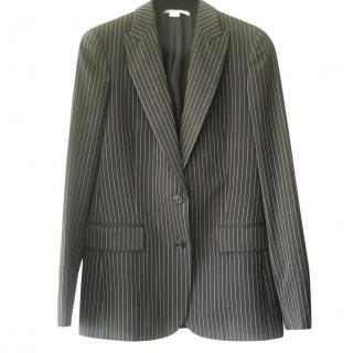 Stella McCartney navy pinstripe blazer