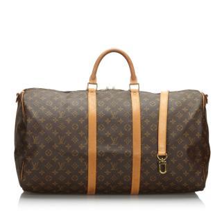 Louis Vuitton monogram bandouliere 55 keepall bag