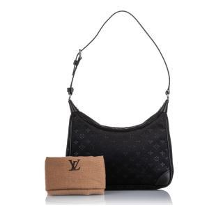 Louis Vuitton Monogram Satin Boulogne Top Handle Bag