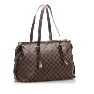 Louis Vuitton Damier Ebene Chelsea Tote Bag