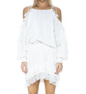 Isabel Marant ecru silk 'Malou' skirt