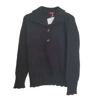 MaxMara black wool jumper