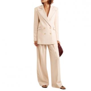 Roland Mouret Woodcourt Alpaca & Wool-blend Twill Suit