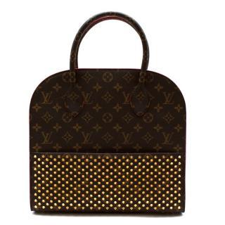 Louis Vuitton x Christian Louboutin Calf Hair Spikes Iconoclast Tote