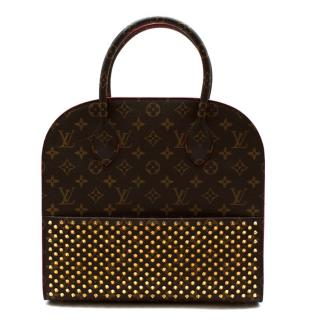 Louis Vuitton x Christian Louboutin Calf Hair Spikes Iconoclast Tote