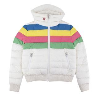 Perfect Moment Kids White Queenie Jacket