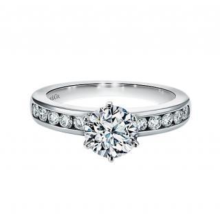 Tiffany & Co. Setting Collection Platinum Diamond Engagement Ring