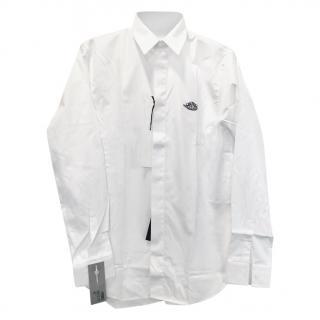 Dior x Air Dior white cotton long sleeve shirt