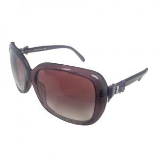 Chanel c.083/3p purple square sunglasses