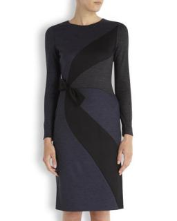 Paul Ka Navy Wool dress
