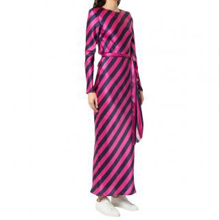 Maggie Marilyn striped silk Get em Girl dress
