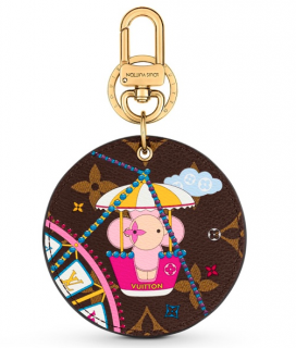 Louis Vuitton Limited Christmas Edition Vivienne Bag Charm