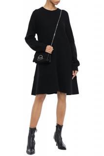 Proenza Schouler Black Wool & Cashmere Knit Dress