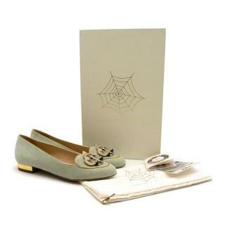 Charlotte Olympia Libra Mint Green Birthday Shoes