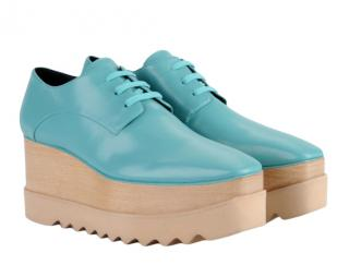 Stella McCartney Blue Platform Elyse Shoes