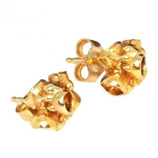 Imogen Belfield 9ct gold stud earrings