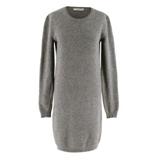 Stella McCartney Grey Wool & Cashmere Jumper Dress