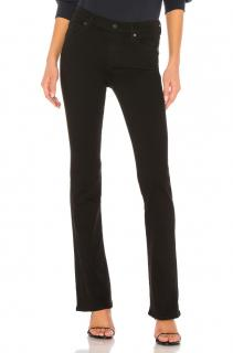 Citizens of Humanity Emanuelle black slim bootcut jeans