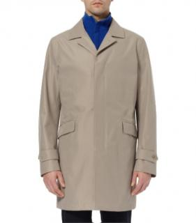 Loro Piana Beige Mens Trench Coat