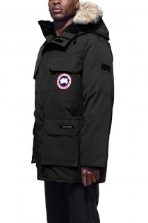 Canada Goose Expedition Black Fur-Trim Parka