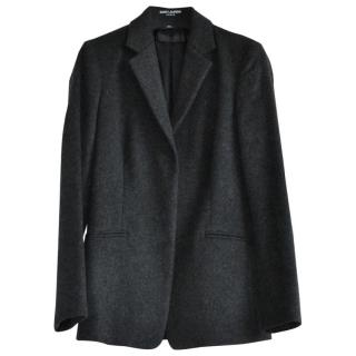 Calvin Klein Collection Grey Wool Tailored Jacket