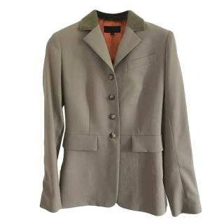Hermes Wool Tailored Classic Riding Jacket