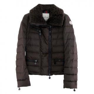 Moncler Brown Frene Down Puffer Jacket